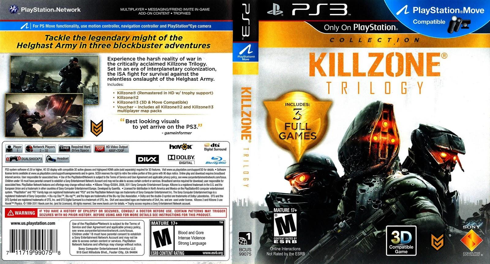 killzone shadow fall скачать торрент на pc