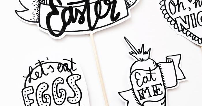 Luloveshandmade: Easter and Springtime Handlettering Freebie