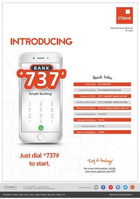 gtb 737 transfer service ussd code