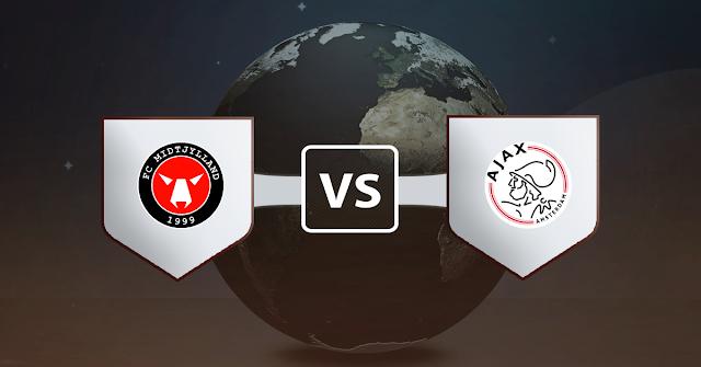 نتيجة مباراة أياكس أمستردام ومتيولاند اليوم الاربعاء 25 نوفمبر 2020 في دوري أبطال أوروبا