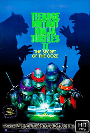 Las Tortugas Ninja 2: El Secreto De Los Mocos Verdes [1991] [Latino-Ingles] HD 1080P [Google Drive] GloboTV