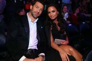 Luke Rockhold With Ex Girlfriend Demi Lovato