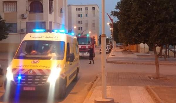سقوط فتاة من الطابق الخامس لعمارة بحي بن سونة بالشلف