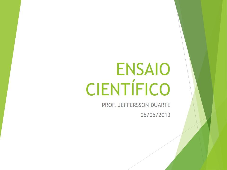 Slide de apresentação de monografia