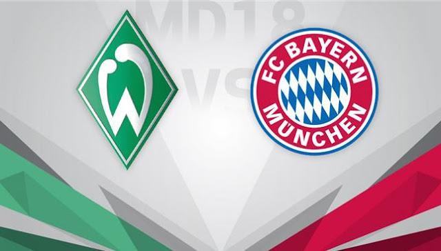 مشاهدة مباراة بايرن ميونيخ وفيردر بريمن بث مباشر اليوم