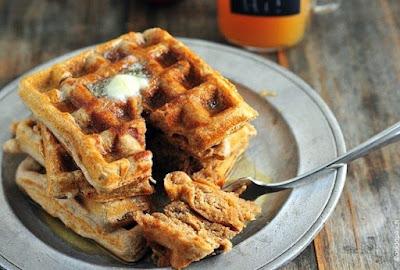 Apple Cider Waffles Recipe