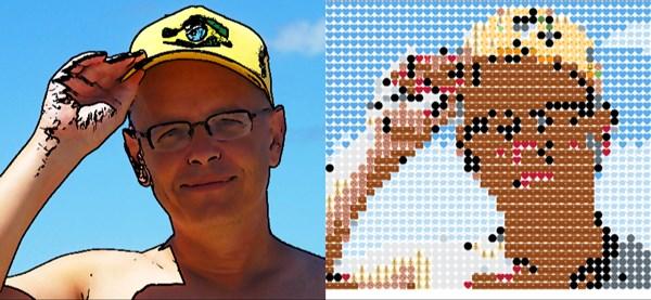 Thierry Roget en emoji