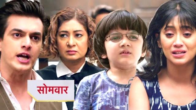 Future Story : Kairav point finger on Kartik's character Naira shocked in Yeh Rishta Kya Kehlata Hai
