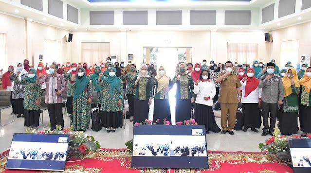 TP PKK Kabupaten Sergai Gelar Pelatihan UP2K Yang Diikuti 100 Peserta
