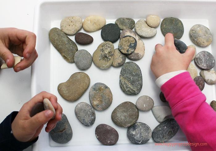 foto de familia con piedras
