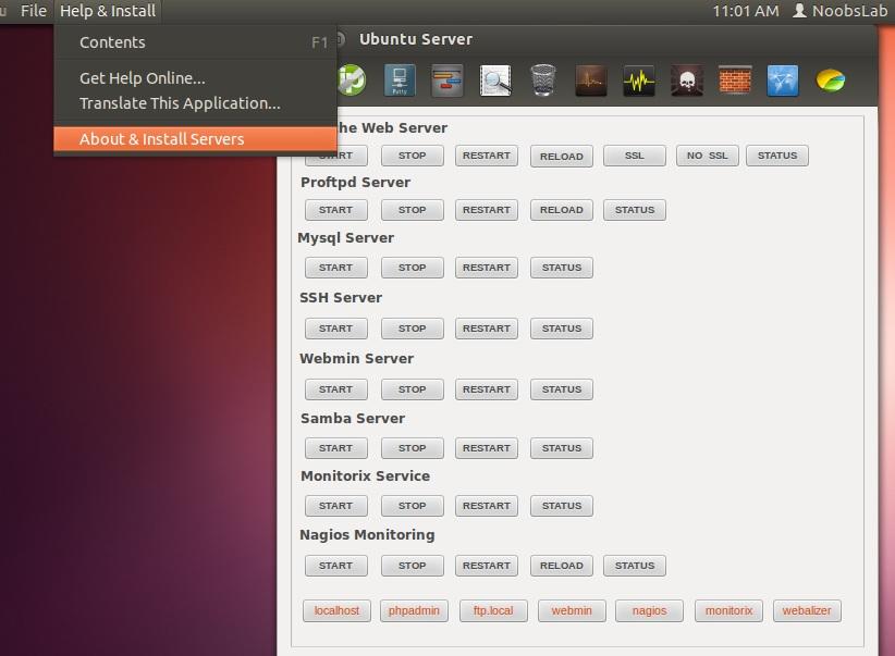 Install Ubuntu Server Manager Utility in Ubuntu/Linux Mint
