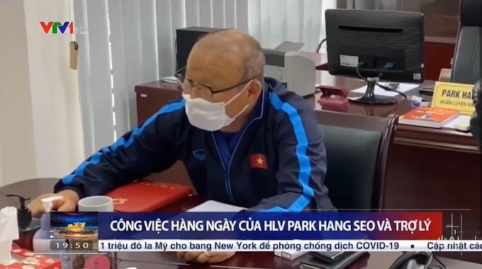 Một ngày làm việc của HLV Park Hang-seo tại VFF