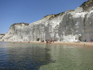 Top 10 Awesome Beaches to visit in Italy, Scala dei Turchi Sicily