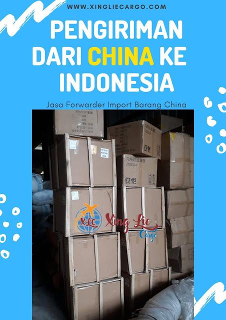 pengiriman dari china ke indonesia