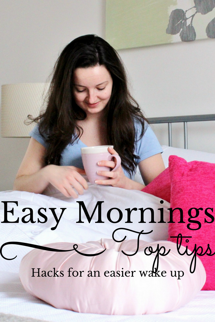 Top tips for easier mornings