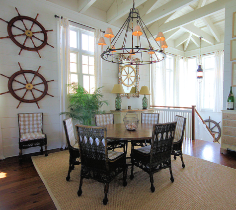 nautical home in brown