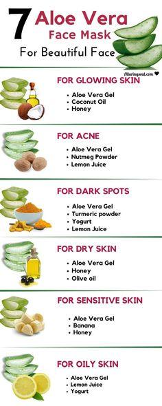 Aloe Vera Anti Aging Face Pack
