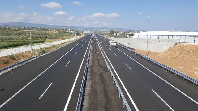 Κυκλοφοριακές ρυθμίσεις στον Αυτοκινητόδρομο Κόρινθος-Τρίπολη-Καλαμάτα, λόγω εκτέλεσης εργασιών