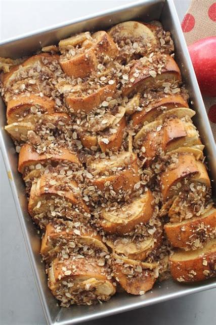 Apple Pie French Toast Casserole sweet taste