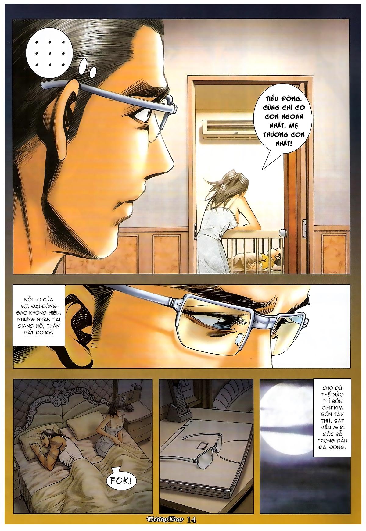 Người Trong Giang Hồ - Chapter 1265: Bát vàng rửa tay - Pic 13