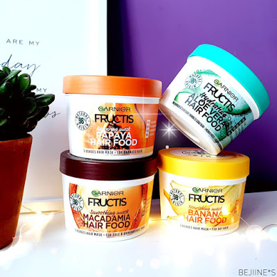 Masque Fructis Hair Food de Garnier