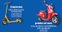 Castiga 1 scuter motorizat + 6 trotinete electrice - concurs - durex - 2020 - valentines - day - castiga.net