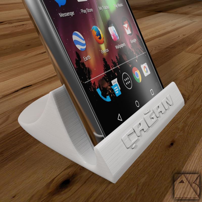 custom 3d printed phone stand