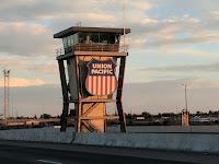 Union Pacific Railroad command and control center