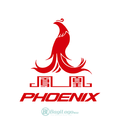 Shanghai Phoenix Bicycles Logo Vector