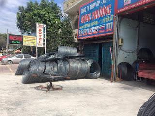 Cửa hàng đại lý thép, xi măng, cát đá TPHCM