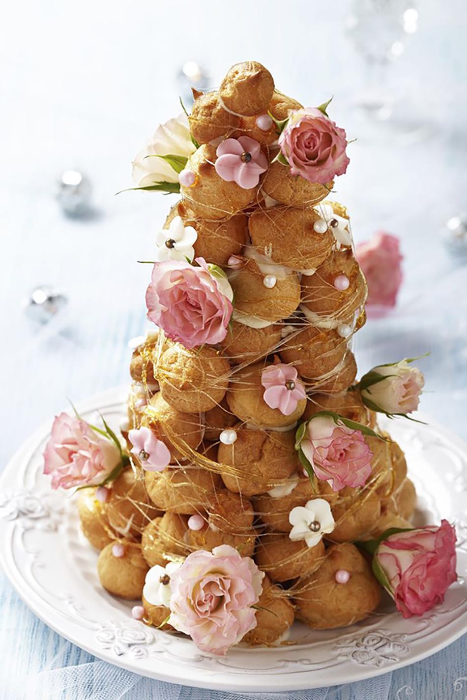 decorado con flores