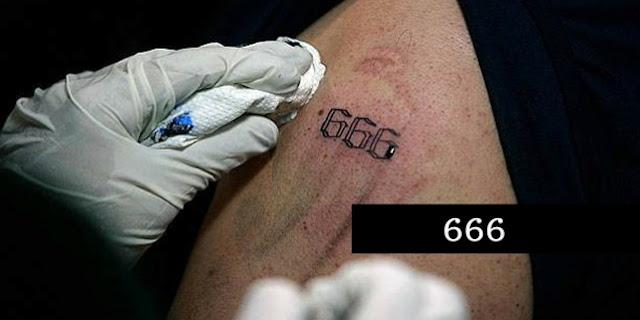 """Igreja passou a tatuar o número """"666"""" em todos os membros - Veja o Vídeo"""