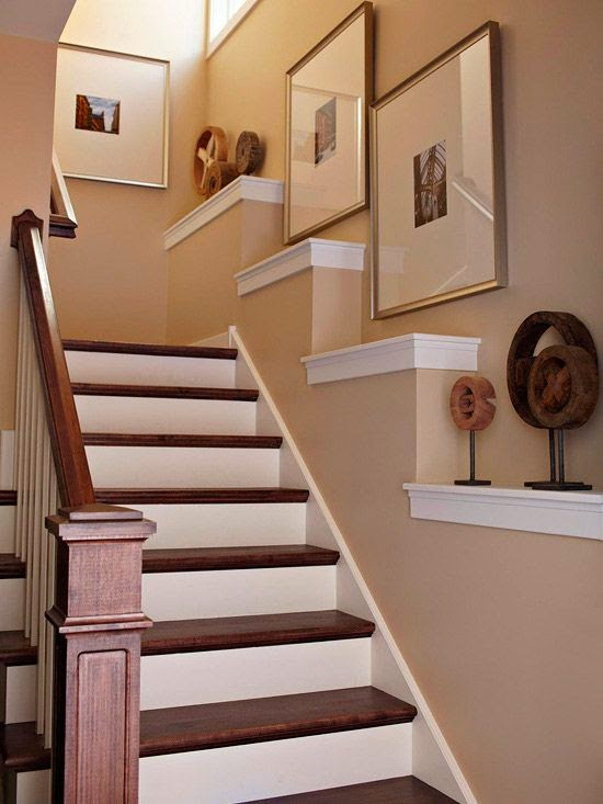 50 Creative Staircase Wall decorating ideas, art frames ... on Creative Staircase Wall Decorating Ideas  id=15349