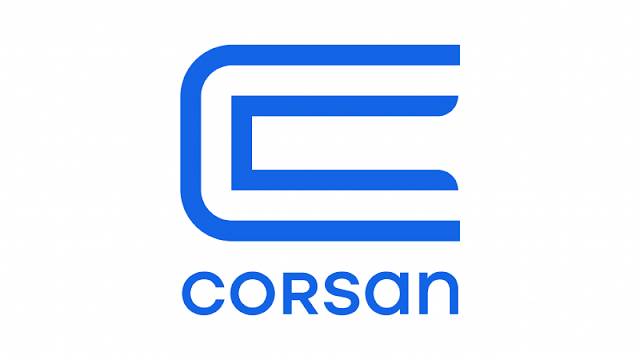 Logotipo da Corsan lançado em 2020