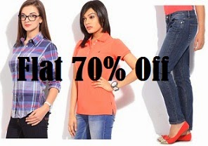 Flat 70% Off on Women's Clothing : Gas, Nautica, GANT & more @ Flipkart (Limited Period Offer)