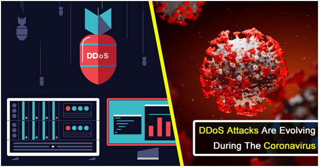 DDoS Attacks Coronavirus