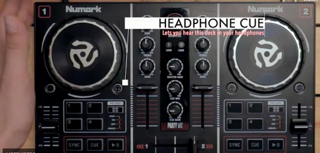 DJ controller Numark party mix cara install agar bisa digunakan