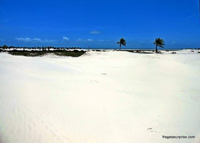 Dunas de Mangue Seco, Litoral Norte da Bahia
