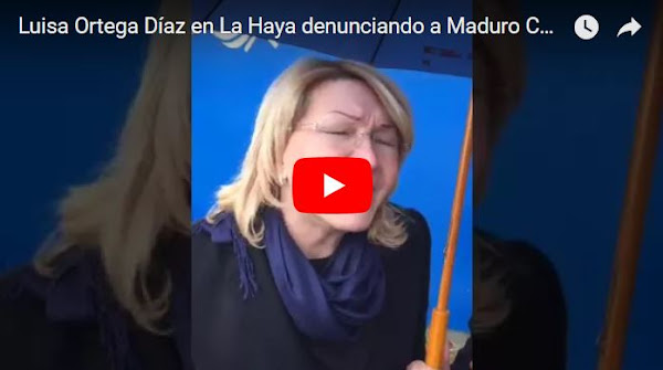 Luisa Ortega Díaz está denunciando a Maduro en La Haya