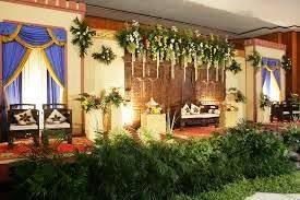 dekorasi panggung pelaminan