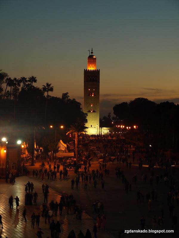 Marrakesz - Meczet Koutoubia