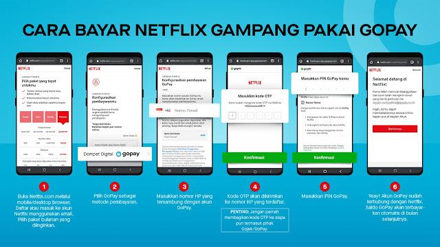tutorial-bayar-netflix-pakai-gopay