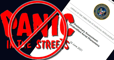 Pentagon's UAP/UFO Report: No Panic In The Streets