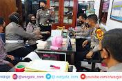 Kasat Lantas Polres Gowa Sambut Lansung TIM Supervisi Dit Lantas Polda Sulsel