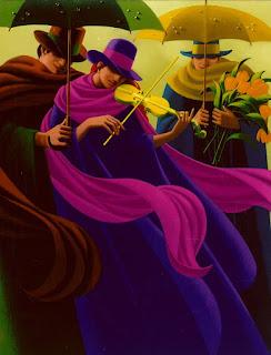 escenas-de-figura-humana-con-sombreros-y-sombrillas pinturas-figura-humana