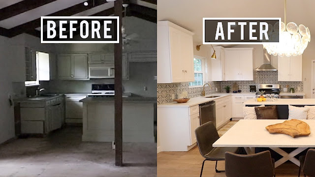 Before and After House Flip $80000 Home Renovation