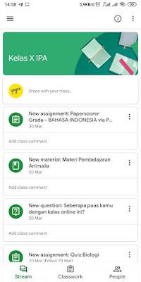 Cara Menggunakan Aplikasi Google Classrom di HP Android dan iOS