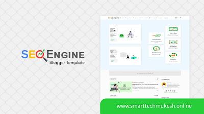 SEO Engine - Premium UI Design Blogger Template