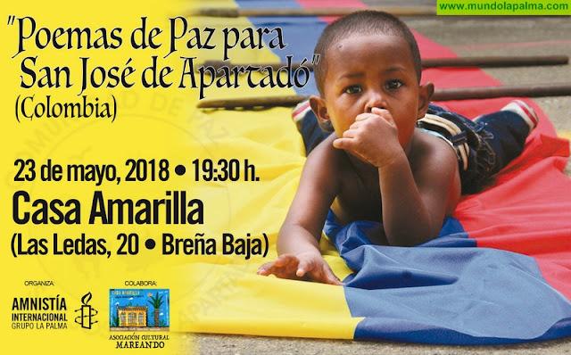 """Acto """"Poemas de Paz para San José de Apartadó (Colombia)"""""""