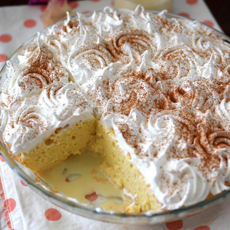 Receta para preparar torta tres leches con menos azúcar